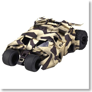 SCI-FI Revoltech Series No.043EX Batmobile Tumbler Camouflage Ver. (Completed)