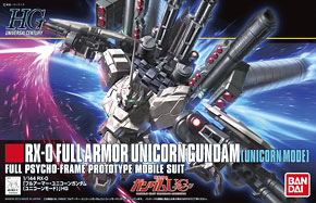 Full Armor Unicorn Gundam (Unicorn Mode) (HGUC) (Gundam Model Kits)