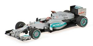 メルセデス AMG ペトロナス F1 チーム W03 M.シューマッハ ベルギーGP 2012 F1参戦300戦目 (ミニカー)