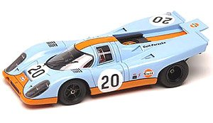 ポルシェ 917K Gulf Racing John Wyer Automotive ルマン 1970 No.20 (ミニカー)