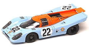 ポルシェ 917K Gulf Racing John Wyer Automotive ルマン 1970 No.22 (ミニカー)