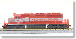 EMD SD40-2 Early with Dynamic Brake Wisconsin&Southern No.4004 ★外国形モデル (鉄道模型) 通販 - ホビーサーチ 鉄道模型 N