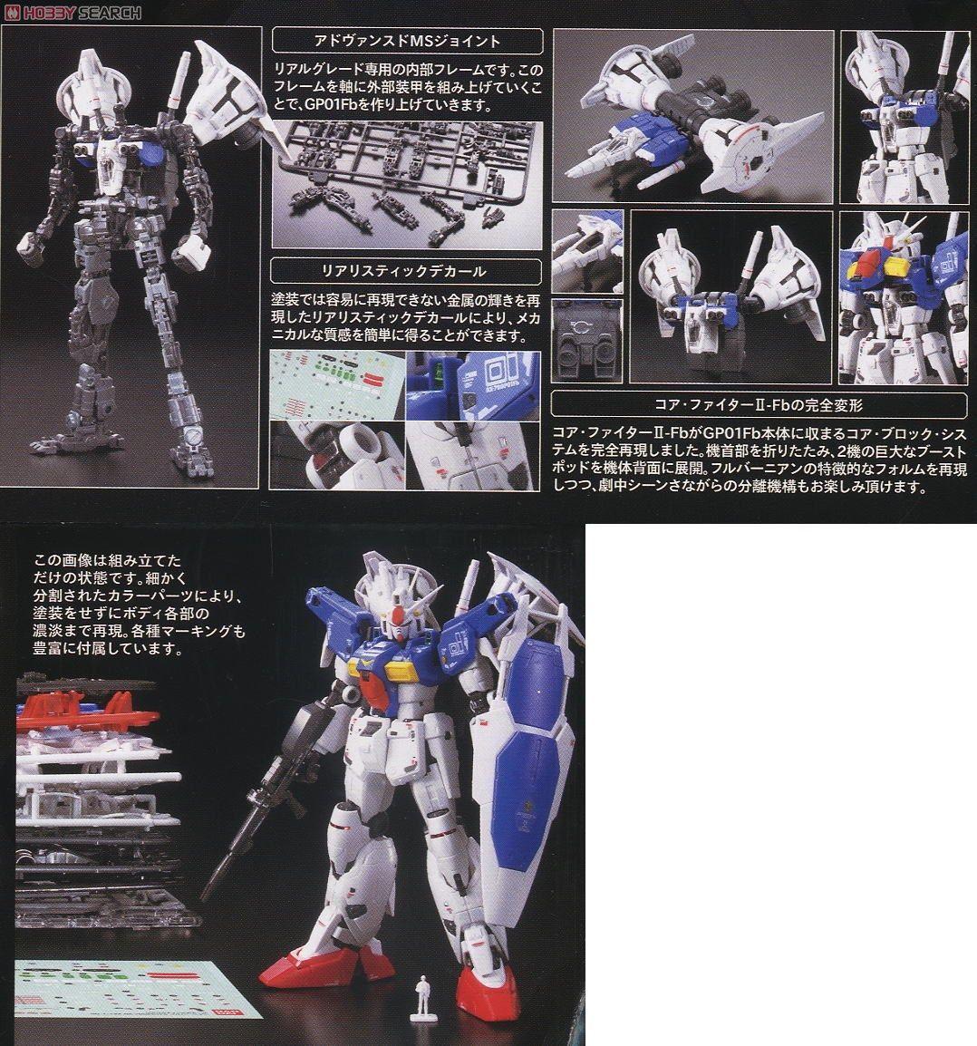 RX-78 GP01Fb Gundam GP01 Full Vernian (RG) (Gundam Model Kits) Item picture5