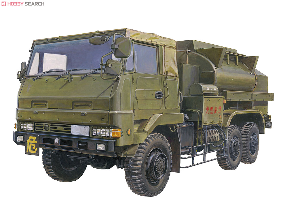[close]JGSDF 3 1/2t Fuel tank car for aviation (Plastic model) Other picture1