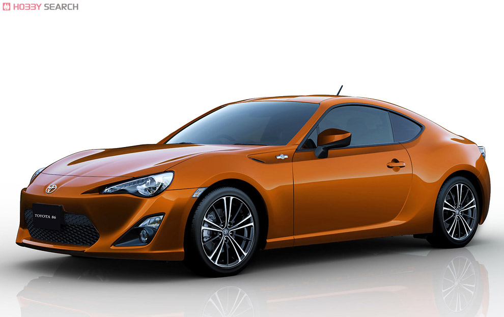 TOYOTA 86 `12 w/Engine (Model Car) Other picture1