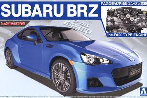 Subaru Brz 12 W Engine Model Car