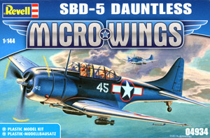 Micro Wings SBD-5 Dauntless (Plastic model)