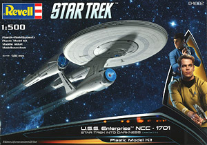 NCC-1701 U.S.S Enterprise (Movie Ver.) (Plastic model)