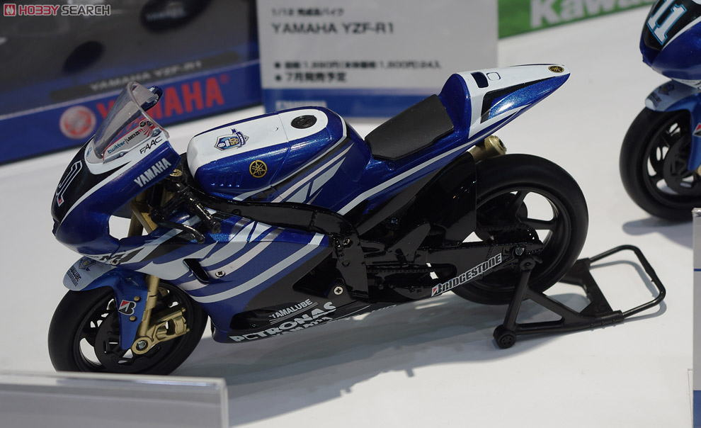 2011 YAMAHA FACTORY RACING TEAM YZR-M1 JORGE LORENZO(No.1)