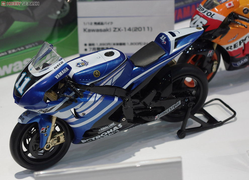2011 YAMAHA FACTORY RACING TEAM YZR-M1 BEN SPIES(No.11)
