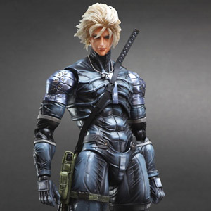 Metal Gear Solid 2 Sons of Liberty Play Arts Kai Raiden (PVC Figure)