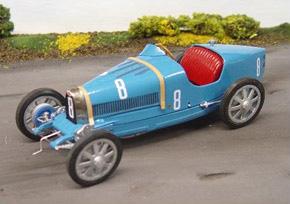 Bugatti 35 (Metal/Resin kit) - HobbySearch Model Car Kit Store