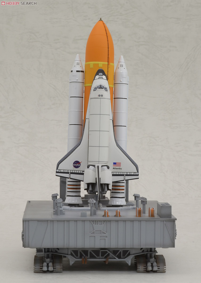 Space Shuttle `Atlantis` with Booster w/Crawler ...