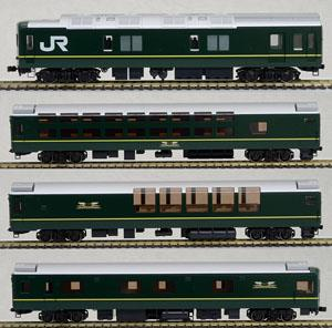 1/80(HO) J.R. Limited Express Sleeper Series 24 Type 25 `Twilight Express` (Basic 4-Car Set) (Model Train)