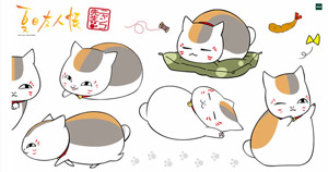Natsume Yujincho Decoration For Wall Nyanko Sensei Anime