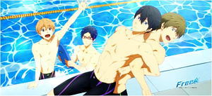 Free! Microfiber Towel (Anime Toy)