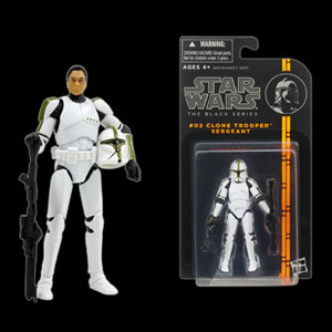 STAR WARS CLONE TROOPER DC-15 BLACK RIFLE FOR 3.75 INCH FIGURES