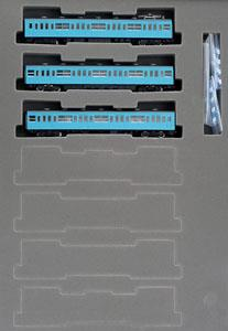 国鉄 103系 通勤電車 (初期型非冷房車・スカイブルー) (基本・3両セット)