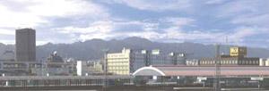 パノラマシリーズ コンテナヤード 2003 (背景画)