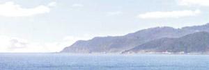 パノラマシリーズ 海岸線・type1 (背景画)