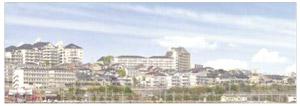 パノラマシリーズ 近郊都市 type1 (背景画)