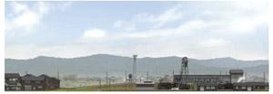 パノラマシリーズ 蒸気機関区 type2 (背景画)