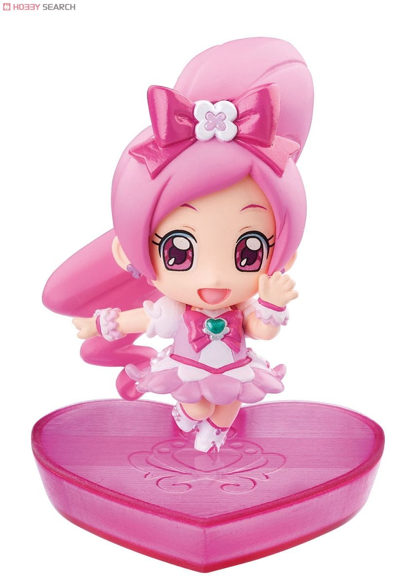 Petit Chara! Series Heart Catch PreCure! 6 pieces (PVC Figure) Item picture1