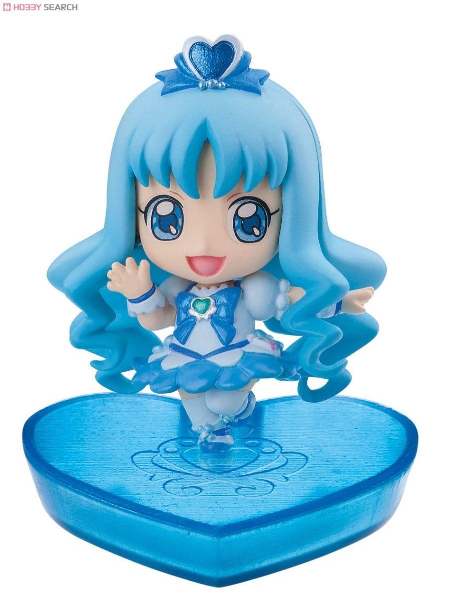 Petit Chara! Series Heart Catch PreCure! 6 pieces (PVC Figure) Item picture2