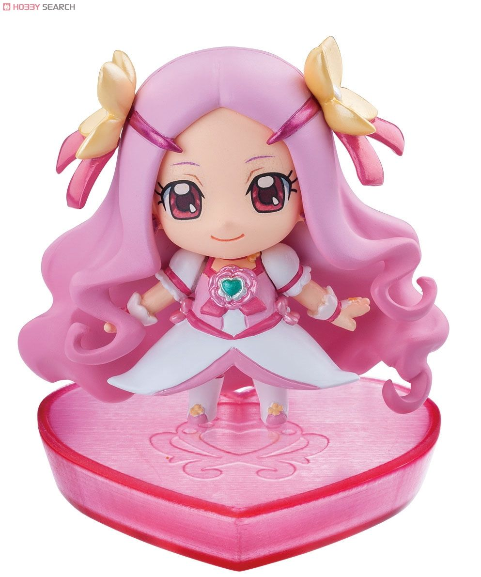 Petit Chara! Series Heart Catch PreCure! 6 pieces (PVC Figure) Item picture5