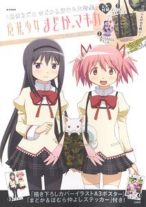 Puella Magi Madoka Magica LOVE Madoka /& Homura ver art book