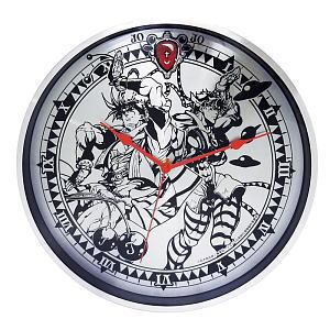 JoJo`s Bizarre Adventure Full Metal Wall Clock (Part 2) Joseph