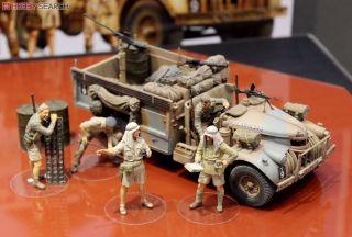 Lrdg Command Car /& 7 Figuren Tamiya 32407-1//35 Brit Neu North Africa