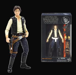 "Star Wars The Black Series 6/"" #08 Han Solo"
