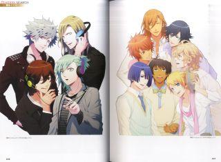 UTA NO PRINCE SAMA Maji Love 2000/% Utapri Fanbook Art Book GK49*