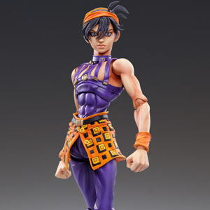 Super Figure Action [JoJo`s Bizarre Adventure] Part V 44.Narancia Ghirga & Aerosmith (Hirohiko Araki Specify Color) (PVC Figure)