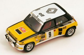 Die cast 1//43 Modellino Auto Renault 5 GT Turbo Rally Monte Carlo 1988 by Ixo