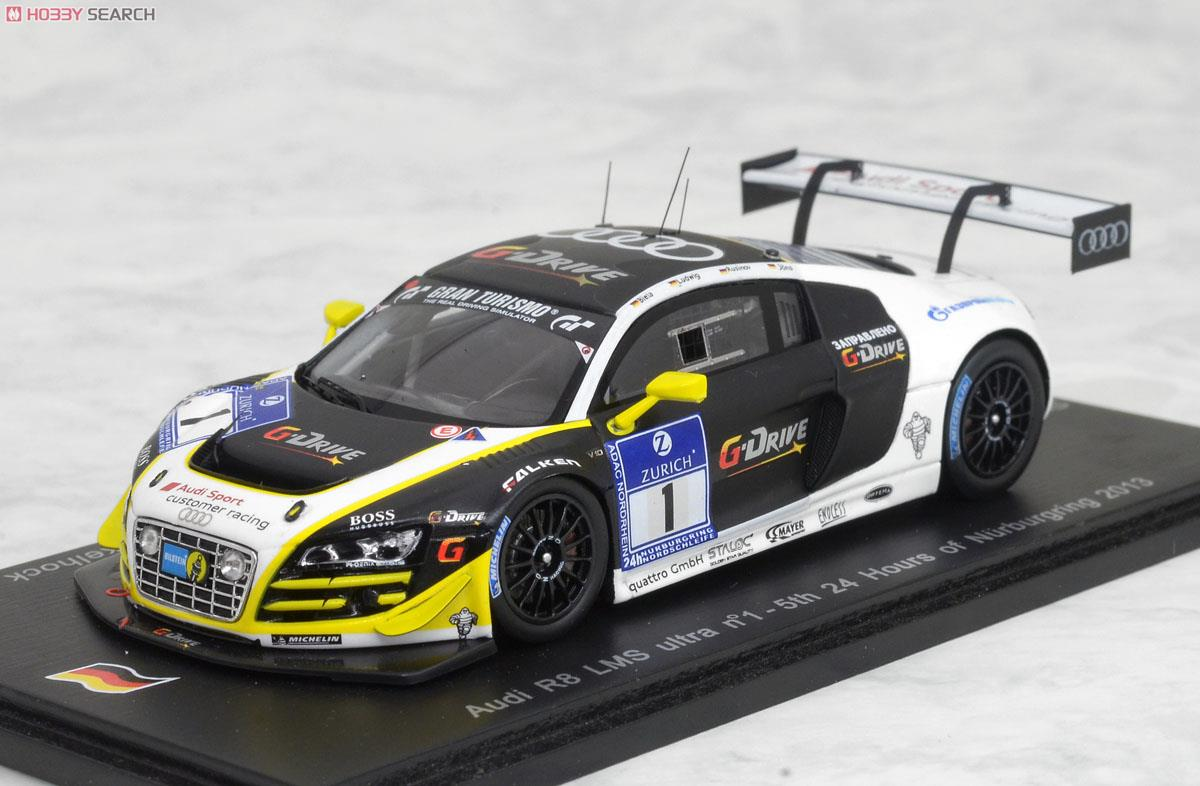 Audi R8 Lms Ultra No 1 5th 24 Hours Of Nurburgring 2013