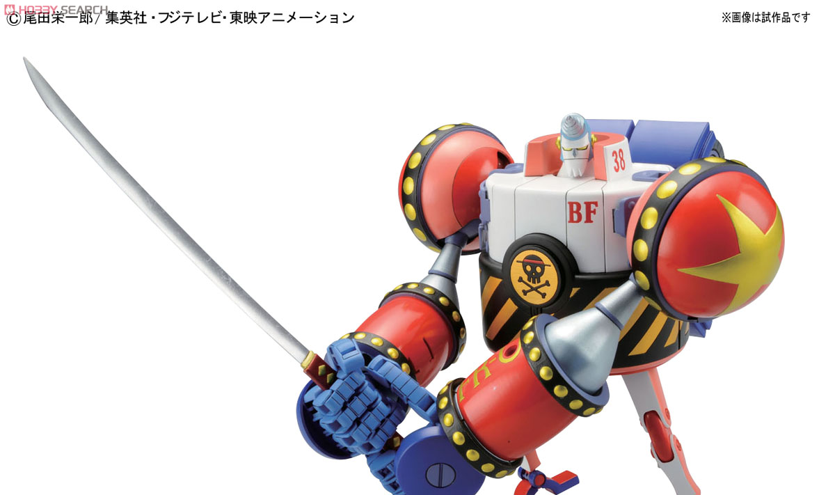 [close] General Franky (Plastic model) Item picture4