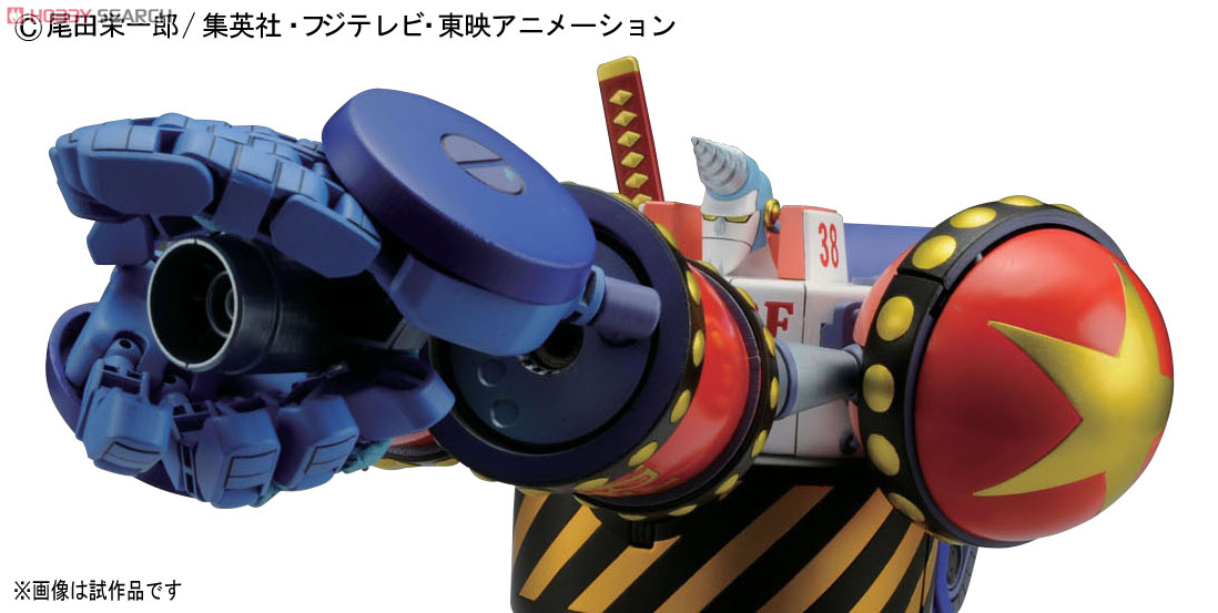 [close] General Franky (Plastic model) Item picture5