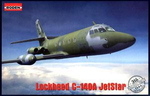 Lockheed C-140A Jetstar Air Force radio observation aircraft (Plastic model)