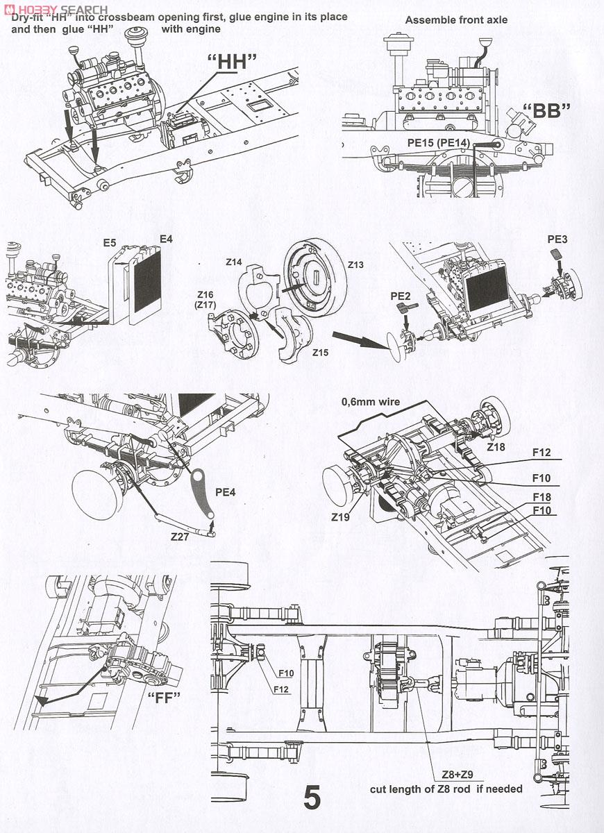 Cmp F15a Ford Truck 4x4 No11 Cab 2b1 Body Plastic Model Images List Z8 Wiring Diagram