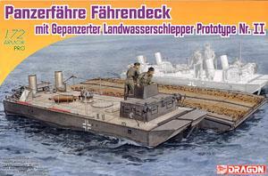 WW.II パンツァーフェリー装甲水陸両用牽引車(LWS) 試作2号車(プラモデル)