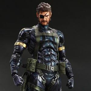 "4/"" PVC Action Figure METAL GEAR SOLID 2 Snakes Model Toy Anime Japan Collection"