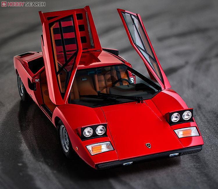 ランボルギーニ・カウンタック LP400 (レッド) (ミニカー)