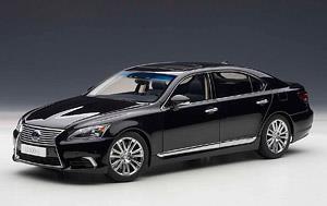 レクサス LS600hL (ブラック/ブラック) (ミニカー)