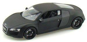 アウディ R8 (マットブラック) (ミニカー)
