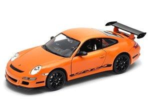 ポルシェ 911 (997) GT3RS (オレンジ) (ミニカー)