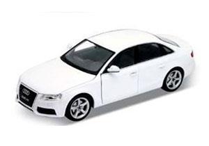 アウディ A4 2008 (ホワイト) (ミニカー)