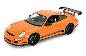 Porsche 911 (997) GT3 RS (Orange) (Diecast Car)
