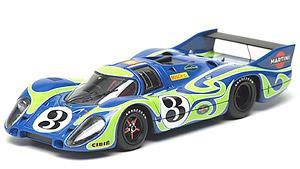 ポルシェ 917 LH `Martini Racing` ルマン 24h 1970 2位 No.3 Psychedelic (ミニカー)
